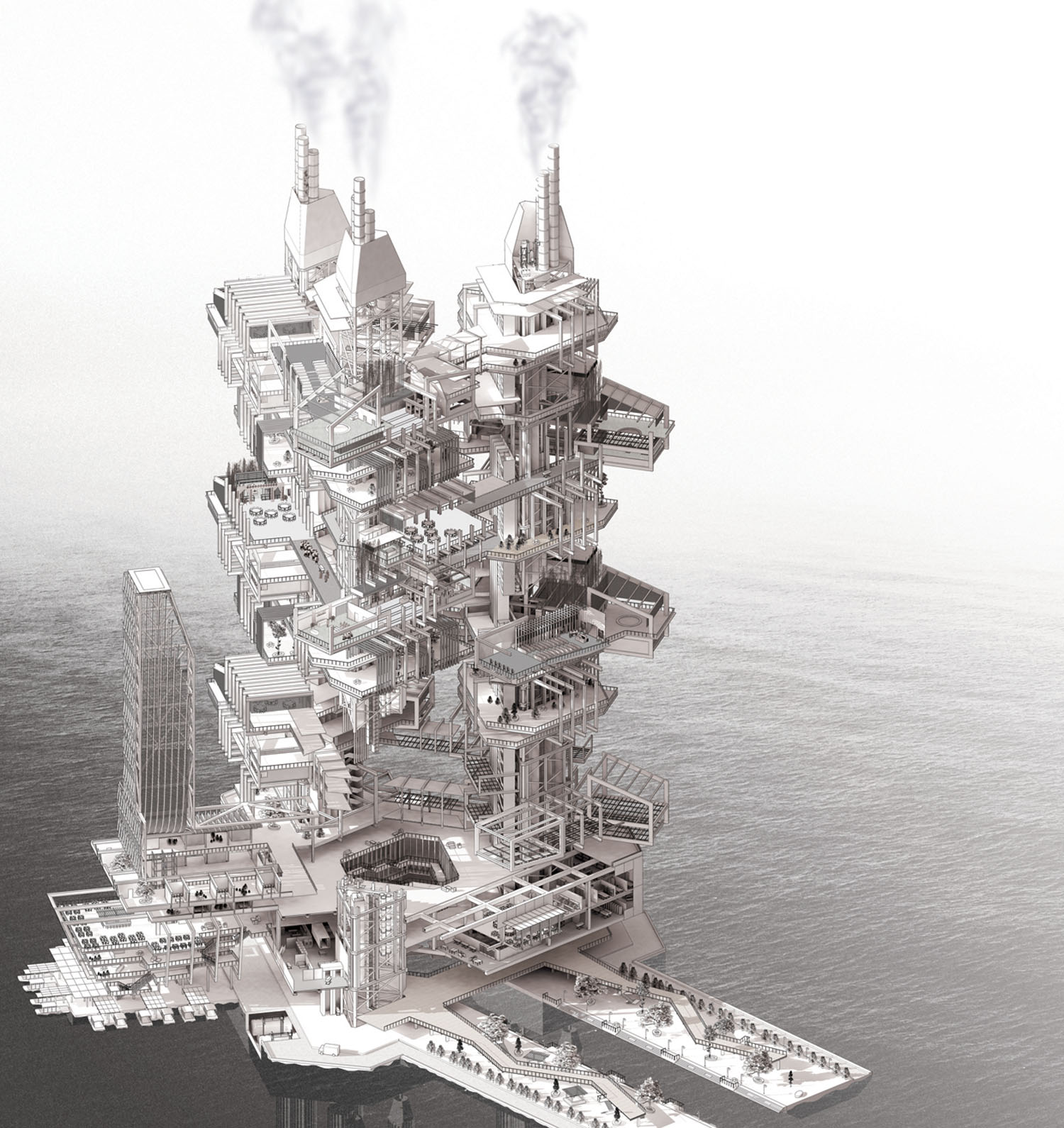 floating settlements