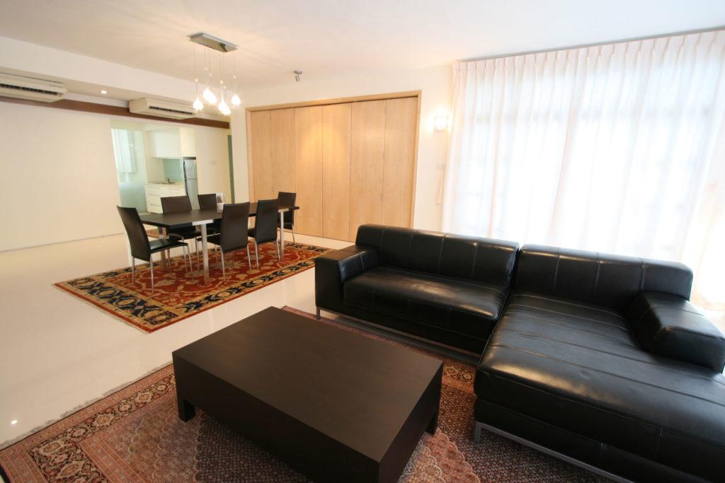 Interior Design Living Room  Link Kitchen Bedroom Kent Vale Apartment NUS Singapore